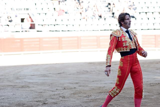 Matador, Bullfighter, Torero, Bullfight, Man