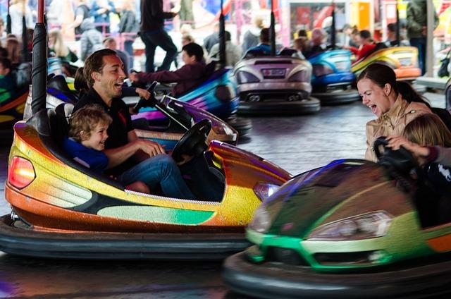 Bumper Car, Fair, Bumper, Fun, Amusement, Park, Car