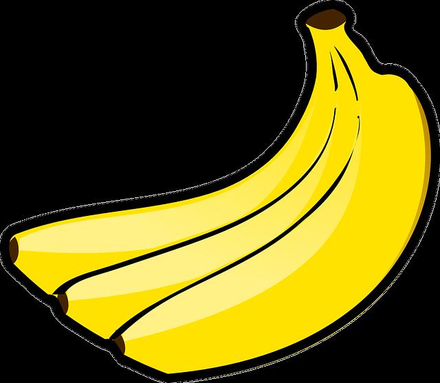 Banana, Bunch, Fruit, Food, Bananas, Fruits, Yellow