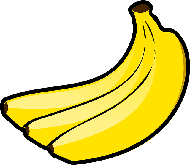 Banana, Bunch, Fruit, Food, Bananas, Fruits, Yellow