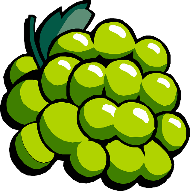 Grape, Fruits, Bunch, Fresh, Green, Organic, Natural