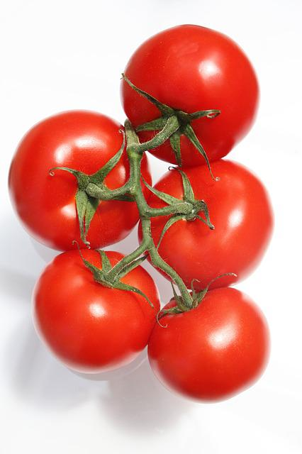 Tomato, Bunch, Mature, Red, Food, Natural, Organic