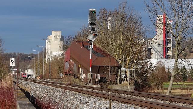 Railway, Train Wreck, Train, Bundesbahn, Signals