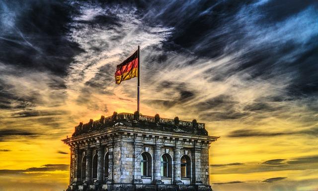 Bundestag, German Flag, Reichstag, Germany, Berlin