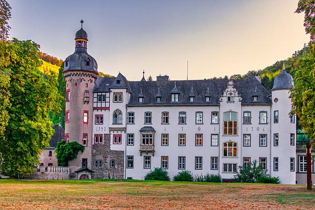 Burg Namedy, Castle, Germany, Architecture, Building