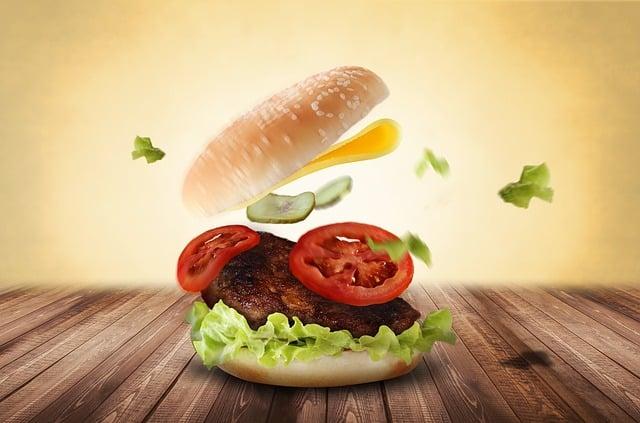 Burger, Hamburger, Eat, Delicious, Fast Food, Food