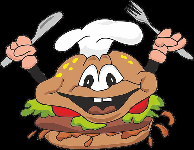 Burger, Cheeseburger, Fast Food, Meal, Restaurant, Cook