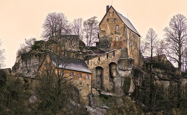 Summit Castle, Burgruine, Ruin, Castle Ruin, Castle