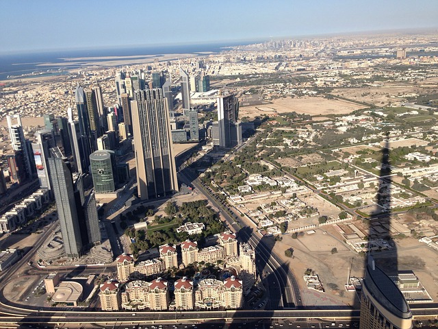 Dubai, Burj Kalifa, City