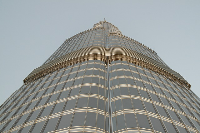 Burj Kalifa, View, Dubai, The Tallest Building