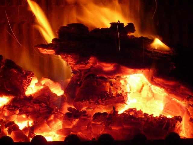 Fire, Embers, Heat, Flame, Hot, Barbecue, Burn