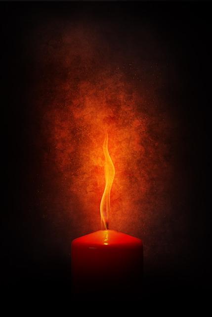 Fire, Flame, Candle, Burn, Love, Blaze, Heiss