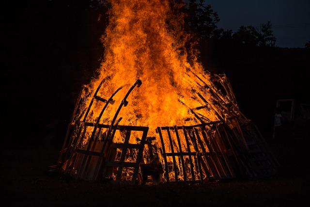Flare-up, Heat, Energy, Burn, Evening, Hot, Joy Fire