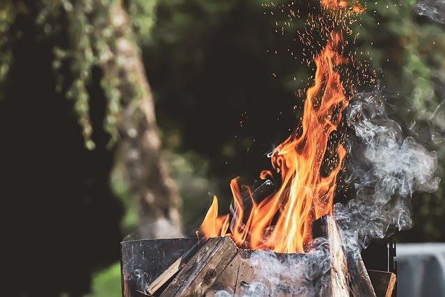 Fire, Wood, Burn, Heat, Hot, Flame, Light, Glow, Embers