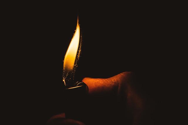 Fire, Lighter, Light, Warm, Burn, Flame, Kindle, Hot