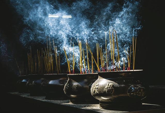 Incense, Pots, Smoke, Oriental, Culture, Pottery, Burn