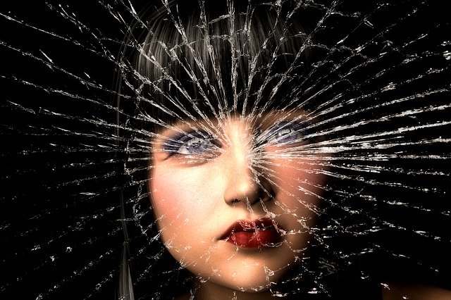 Depression, Woman, Burn, Dark Thoughts, Misfortune