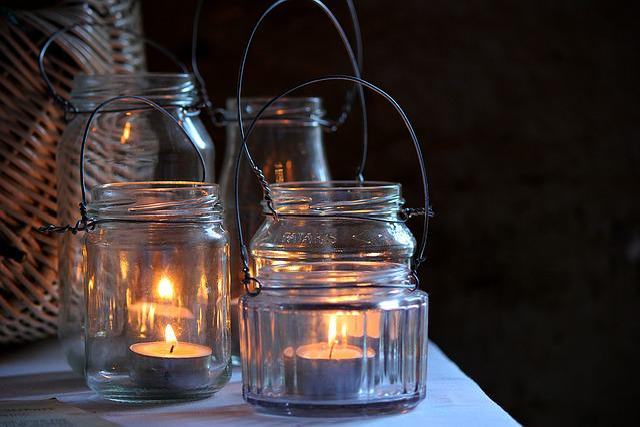 Candlelight, Lantern, Vintage, Love, Burning