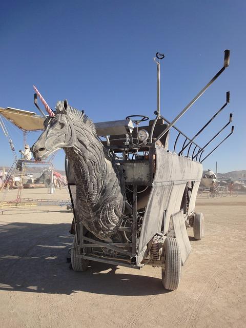 Burning Man, Horse, Dare