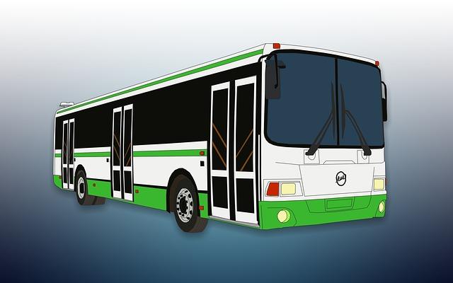 Bus, Figure, Transport, Machine