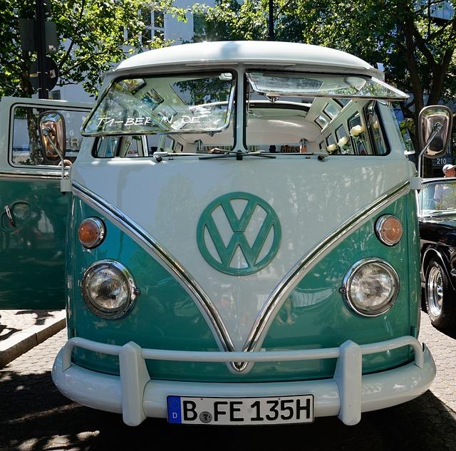 Auto, Vehicle, Transport System, Bus, Spotlight, Vw Bus