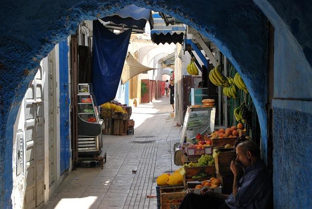 Morocco, Orient, Dealer, Rabat, Alley, Business, Market