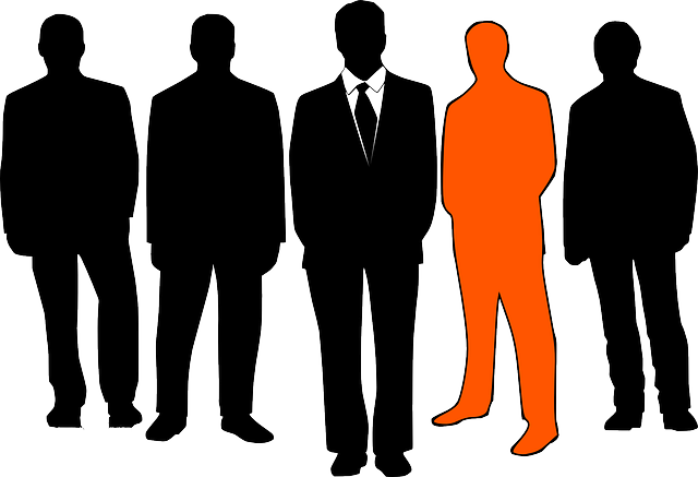 Businessmen, Leader, Group, Business, Men, Orange