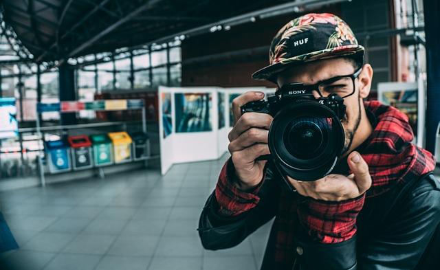 Adult, Blur, Business, Camera, Cap, Capture, Close-up