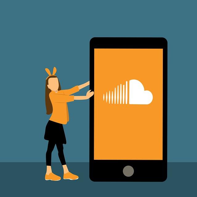 Design, Soundcloud, Girl, Woman, Business, Telephone