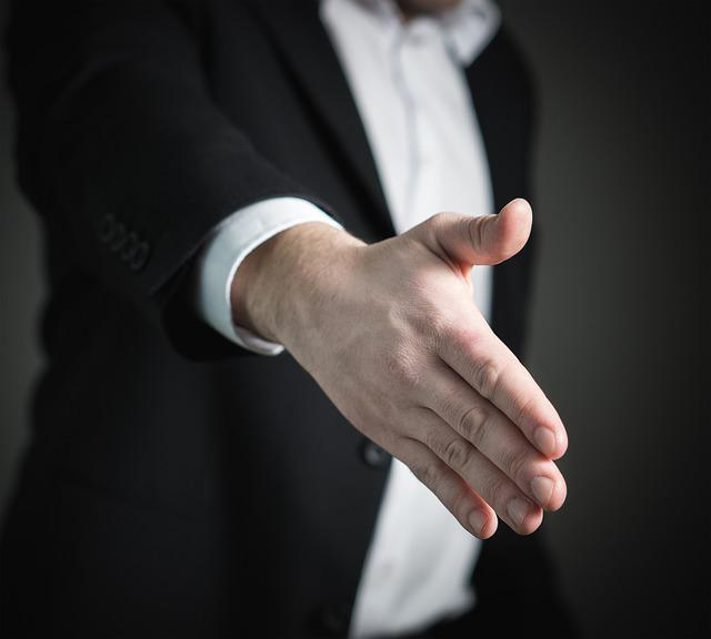 Handshake, Hand, Give, Business, Man, Giving, Offer