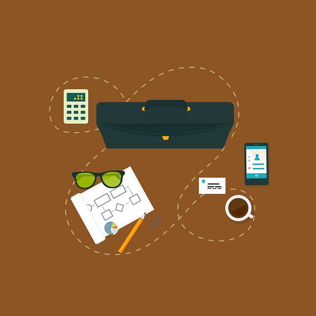 Work, Business, Organize, Table, Notebook, Technology