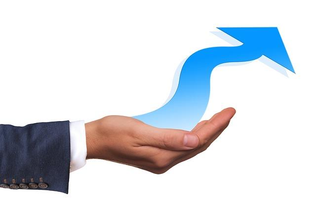 Businessman, Arrow, Profit, Rise, Consulting, Business
