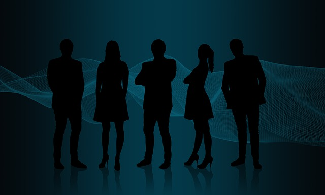 People, Silhouette, Man, Woman, Business, Connection