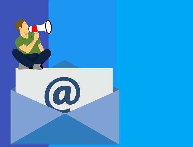 Email Marketing, Business, Image, Sketch, Man, Flat