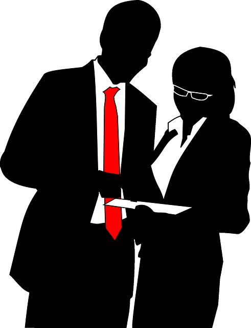 Man, Woman, Tie, Suit, Black, Business, Negro, People