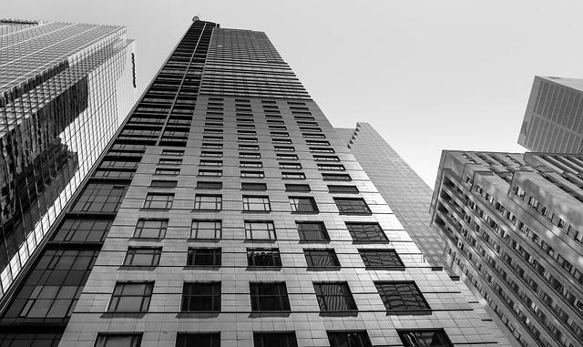 Architecture, City, The Skyscraper, Office, Business