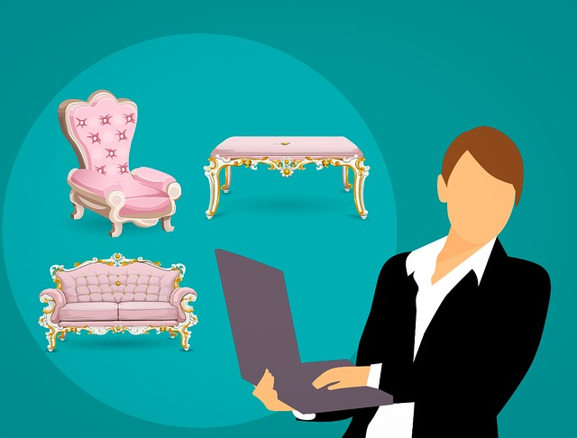 Furniture, Home, Selling, Business Woman, Online, Store
