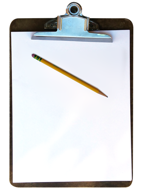 Clipboard, Pencil, Paper, Education, Business, Work
