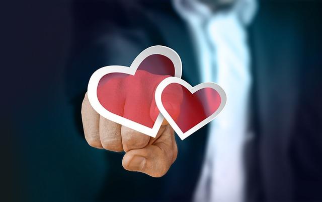 Businessman, Finger, Touch, Turn On, Love, Heart