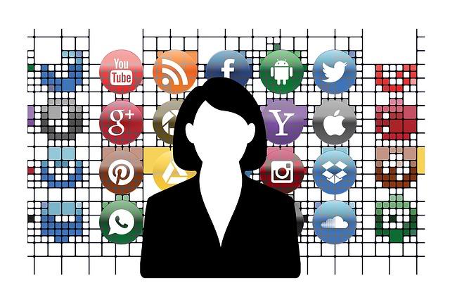 Social Media, Businessman, Businesswoman, Business