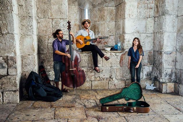 Israel, Street Musicians, Singer, Jerusalem, Busker