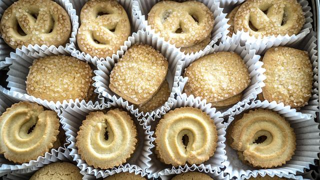 Danish Butter Cookies, Cookies, Butter, Christmas