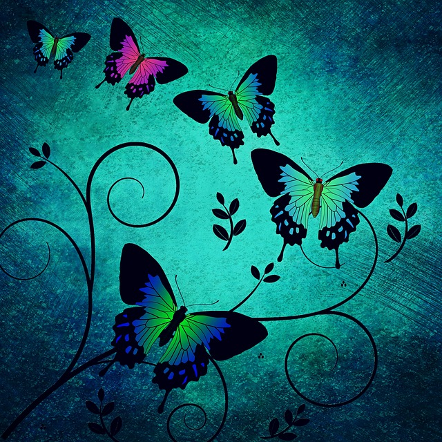 Texture, Butterflies, Background, Animals, Insect