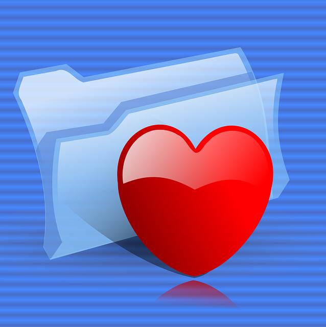 Heart, Folder, Favorites, Like, Favorite, Button, Icon