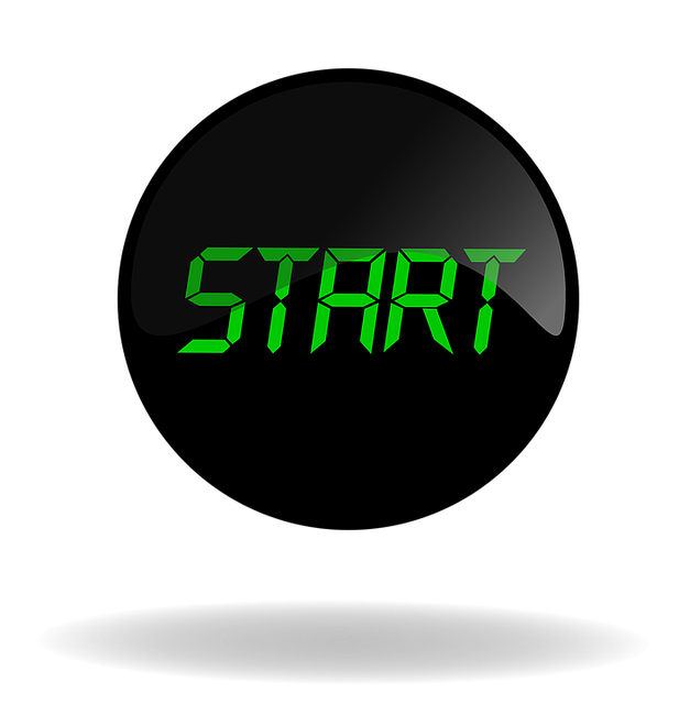 Start, Start Black Button, Button, Web, Internet, Black