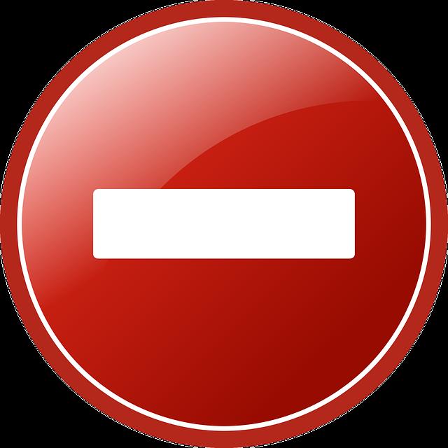 Remove, Button, Delete, Denied, Red, Round, Cancel