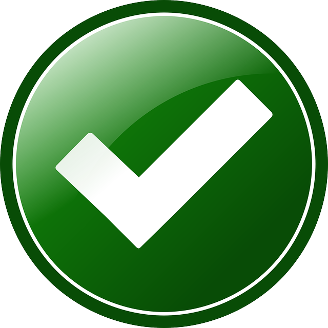 Approved, Button, Check, Green, Round, Tick, Okay