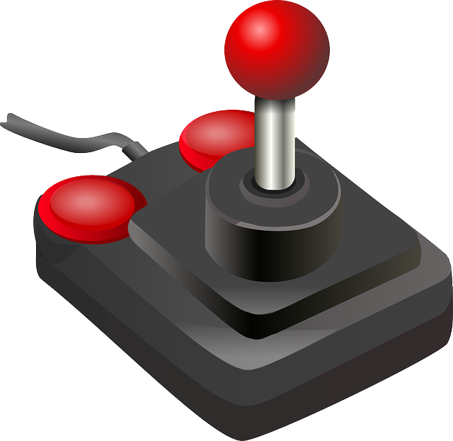 Joystick, Game Controller, Buttons, Video Game, Playing