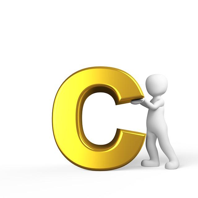 C, Letter, Alphabet, Alphabetically, Abc