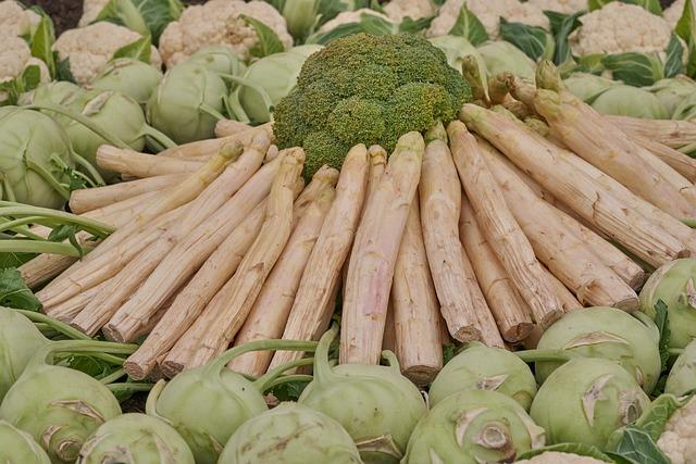 Asparagus, Cabbage Vines, Vegetables, Eat, Healthy